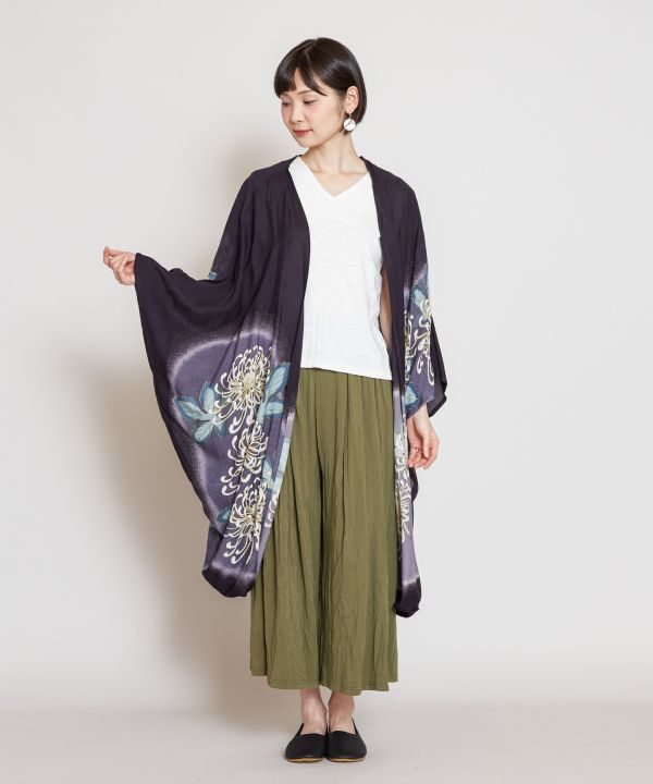 Blooming HAORI UV Protection Cardigan-Ametsuchi