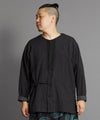 Artisan Collarless Shirt-Ametsuchi