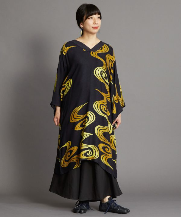 SHIROGANE Kaftan Dress