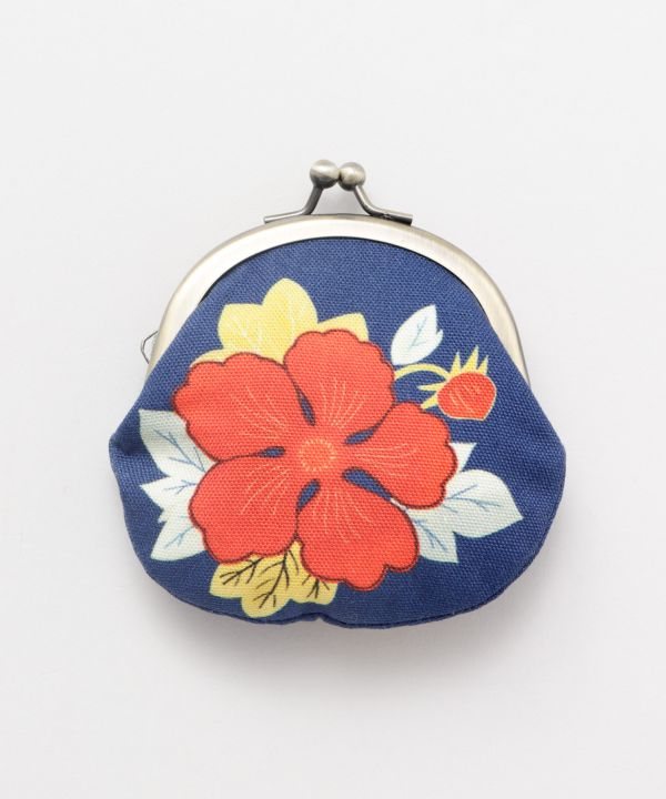 Floral Small GAMAGUCHI Purse