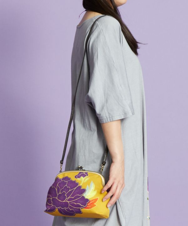 Floral GAMAGUCHI Shoulder Bag