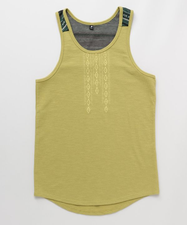 Navajo Embroidered Tank