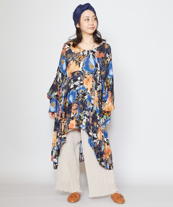 Freesia High Low Hem Kaftan