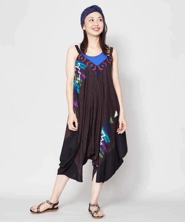 NAVAJO Spirit Convertible Dress-Ametsuchi