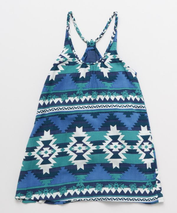 NAVAJO Pattern Kids Dress 110cm-Ametsuchi
