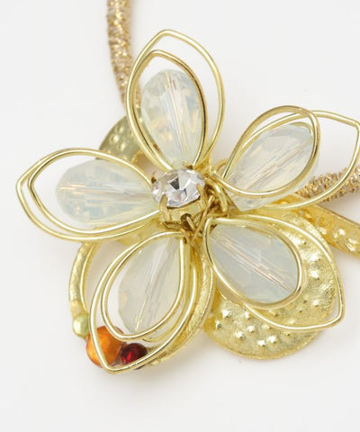Wirework Flower Elastic Hair Tie