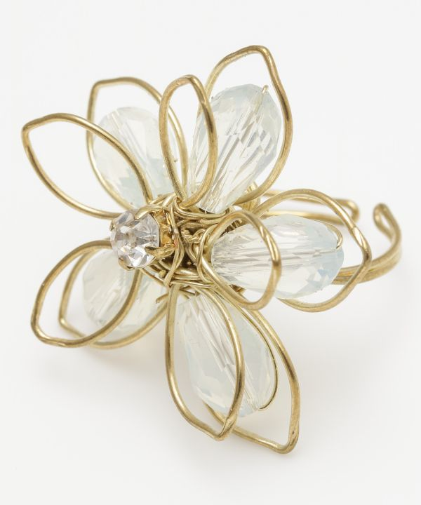Wirework Flower Ring