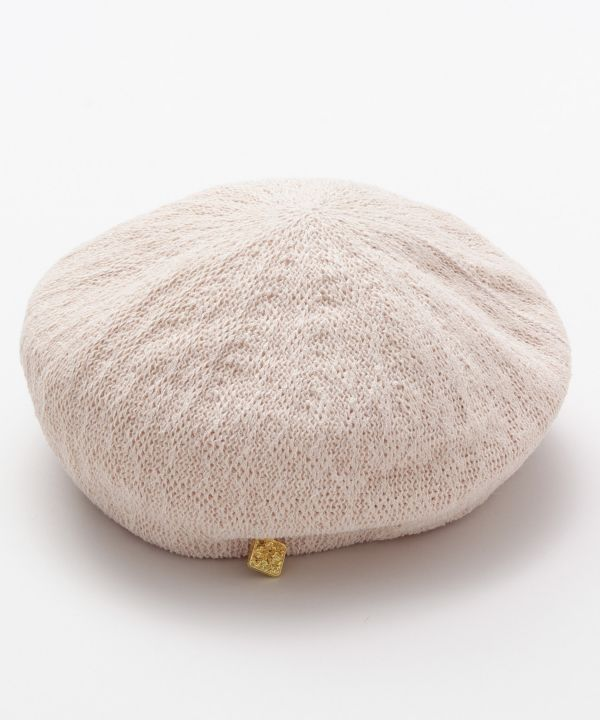 Breezy Knit Beret-Caps & Hats-Ametsuchi