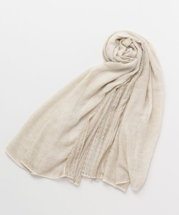 Stripe Lace Stole