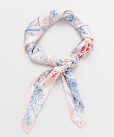 Horse Silhouette Scarf -Scarves-Ametsuchi