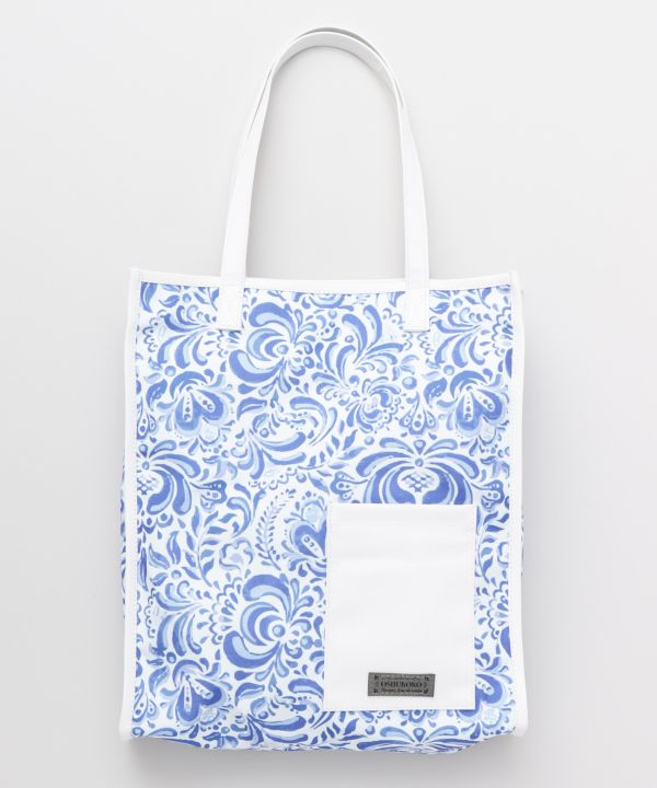 French Moroccan Tote Bag