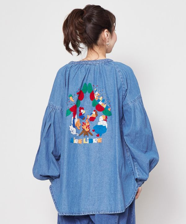 Blouse Camp CALAVERA