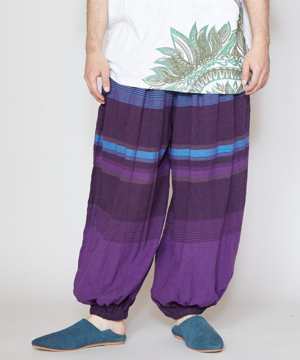 Striped Unisex Harem Pants