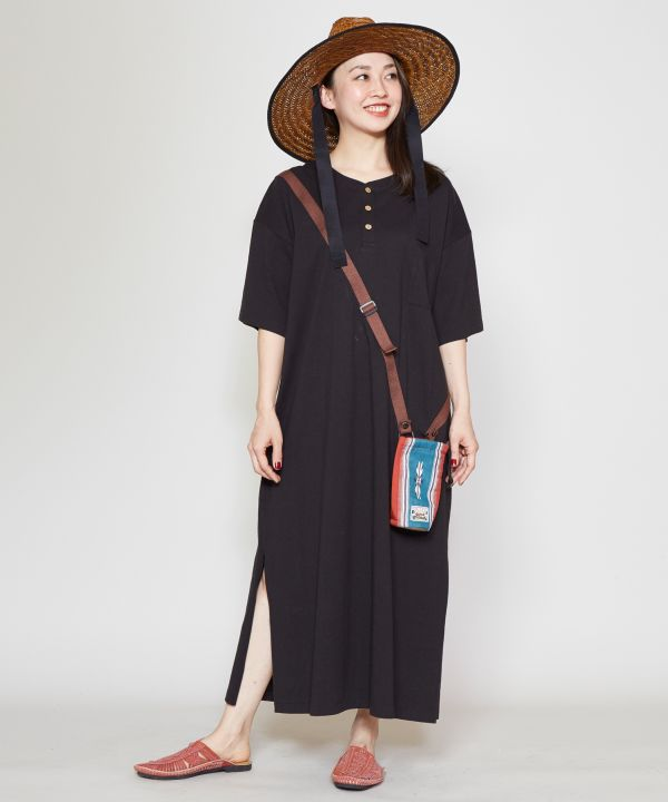 grn x Amina Bottle Holder Tee Dress-Ametsuchi