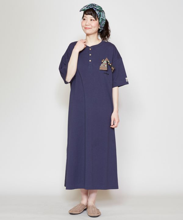 grn x Amina KOKOPELLI Tee Dress-Ametsuchi