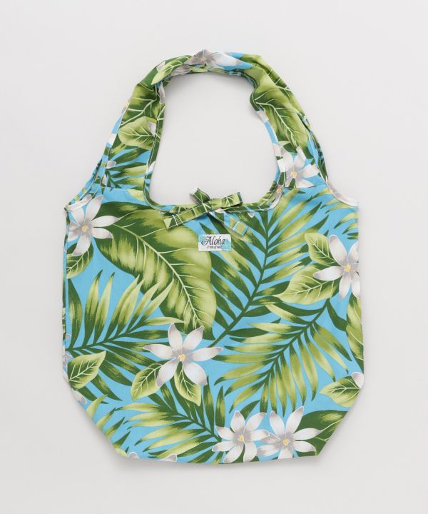 Hawaiian Fabric Reusable Bag
