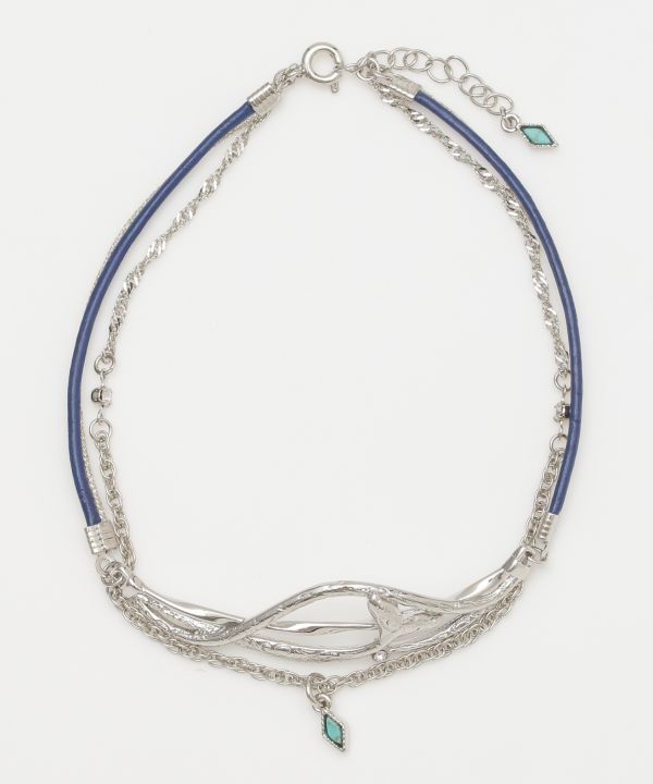 Whale Tale Anklet