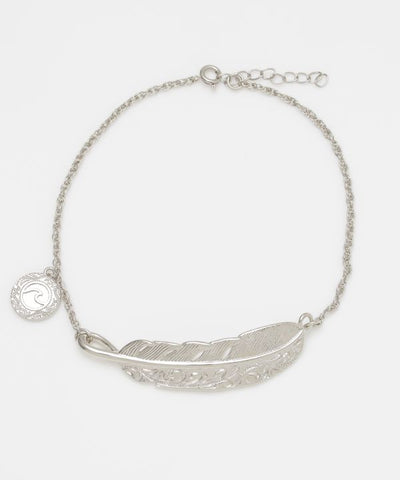 Feather Men's Anklet-Ametsuchi