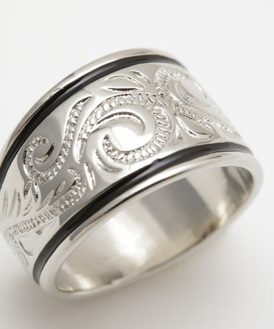 Polynesian Tribal Ring-Ametsuchi