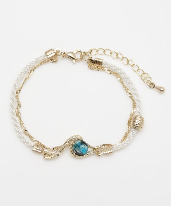 Lanikai Beach Wave Bracelet