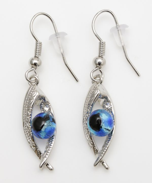 Lanikai Beach Leaf Earrings