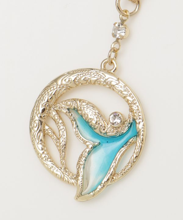 Whale Tale Necklace-Ametsuchi