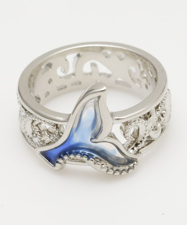 Whale Tale Ring
