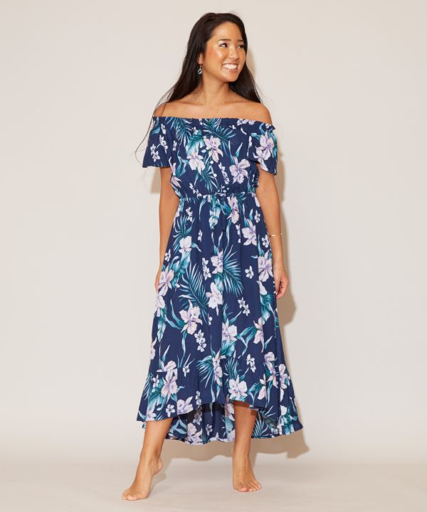 Cattleya Off Shoulder Dress