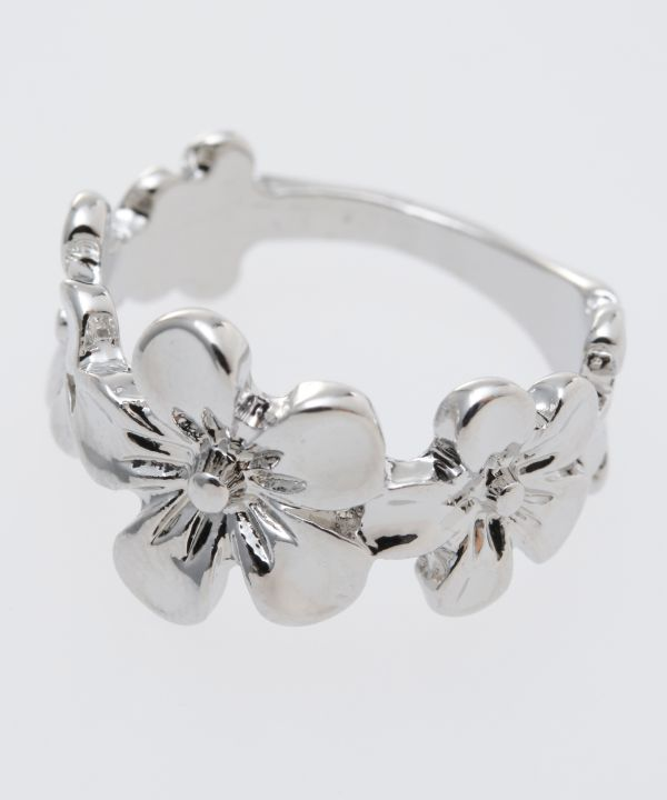 Metal Flower Ring