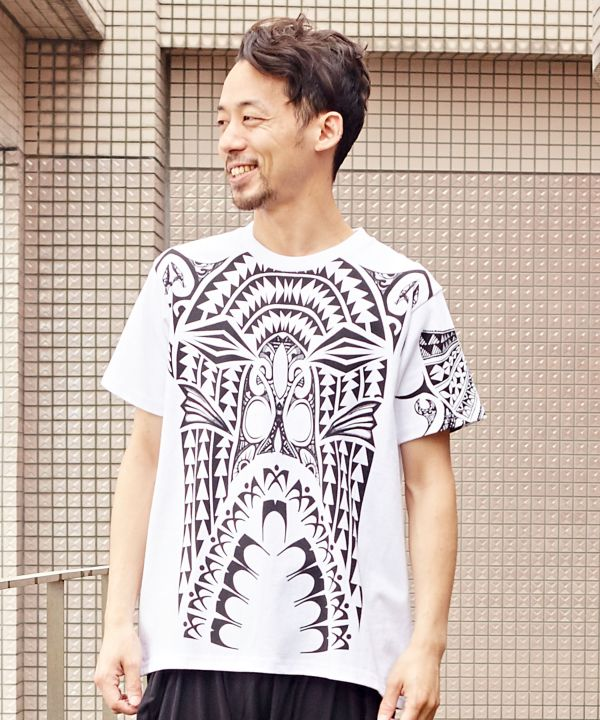 Polynesian Warrior Tee --M