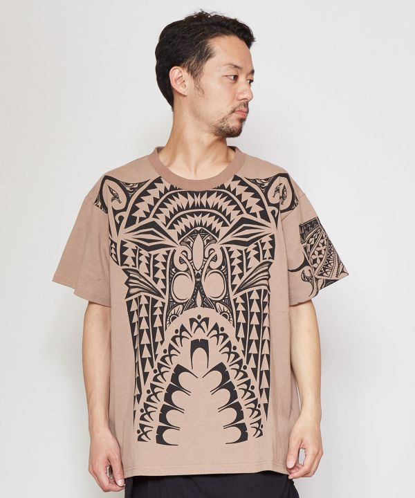 Polynesian Warrior Tee --L