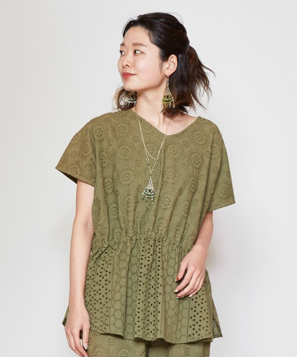 Embroidered Femme Top