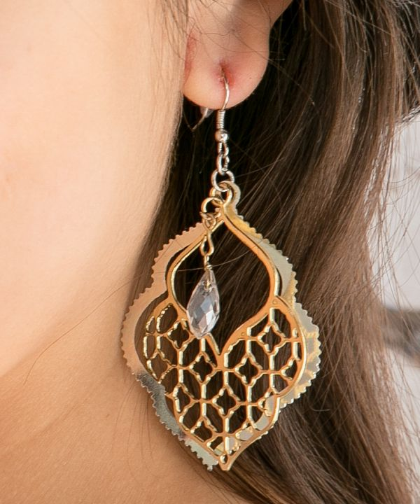Moroccan Townscape Earrings