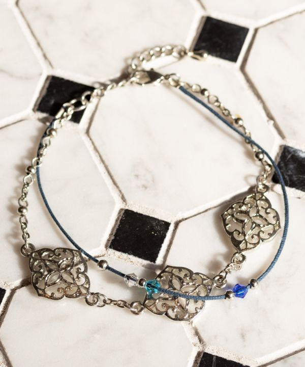 Moroccan Townscape Anklet