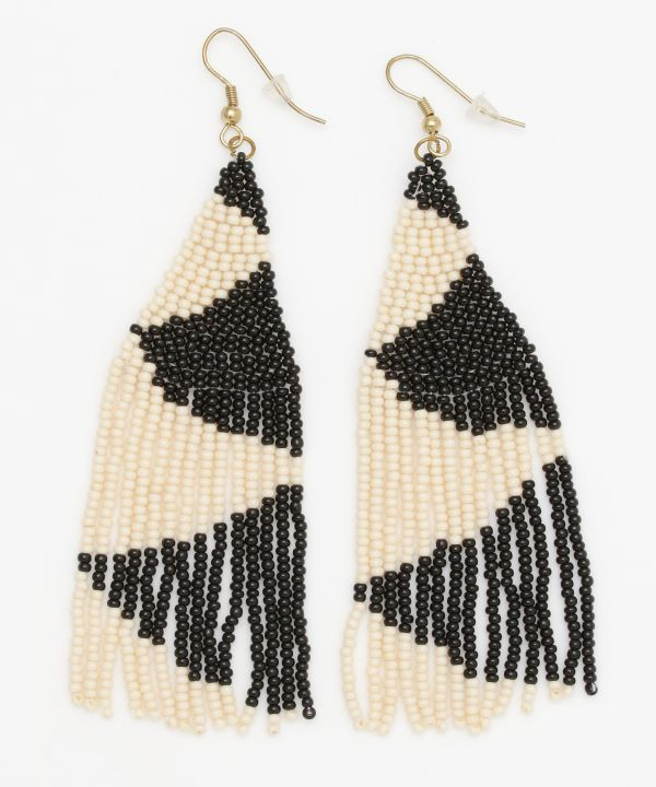 GEOM Beaded Earrings
