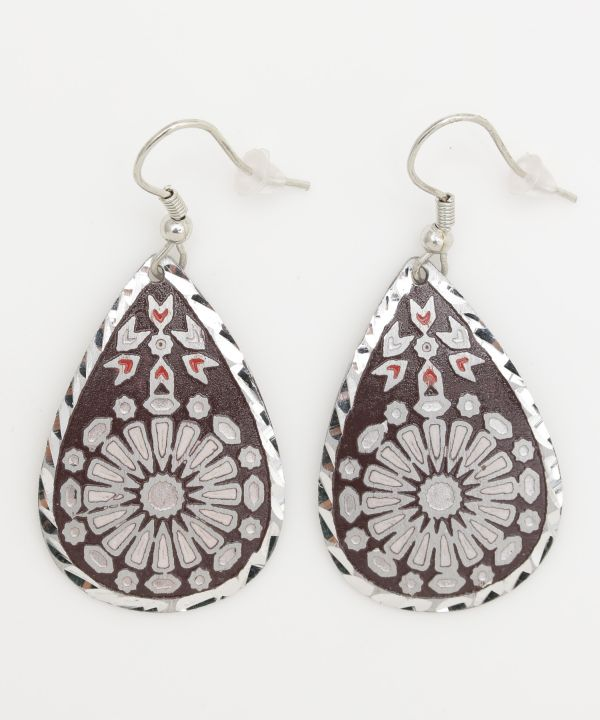 Tile Drop Earrings