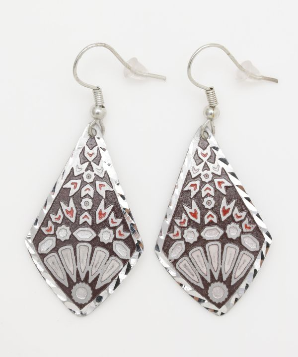 Tile Rhombus Earrings