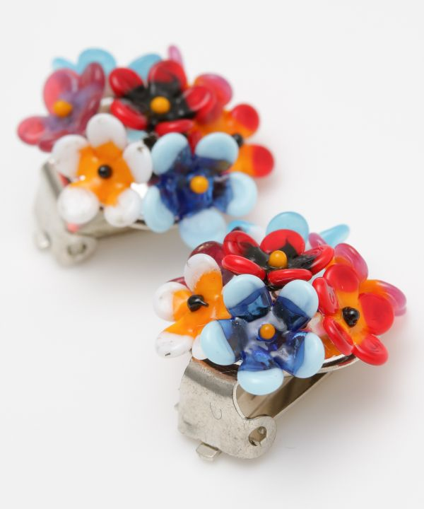 CZECH Glass Bouquet Earrings