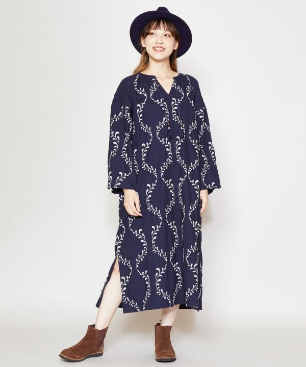 Luxuriously Embroidered Dress