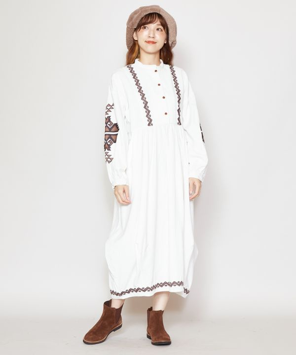 Fate Embroidered Dress