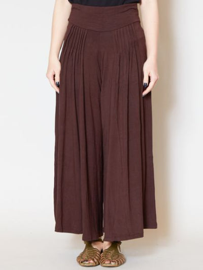 Simple Wide Pants / Skanz Scarcho -Pants & Shorts-Ametsuchi