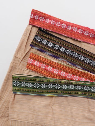 IKAT Thai Cotton Shorts-Ametsuchi