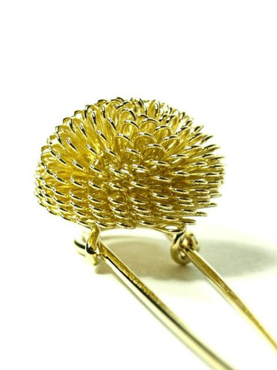Chrysanthemum Shawl Pin-Others-Ametsuchi