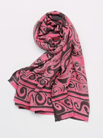 Tribal Pattern Sarong | Stole-Scarves-Ametsuchi