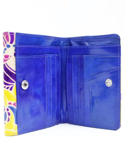 Indian Goat Leather Kolkata Wallet -Bags & Purses-Ametsuchi
