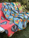 African Fabric Style Multi Cloth-Home Decor-Ametsuchi