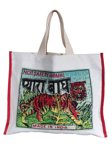 Indian Pop Art Tote Bag
