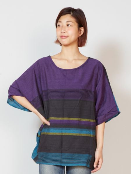 Napali Cotton Stripe Top