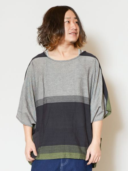 Unisex Napali Cotton Stripe Top