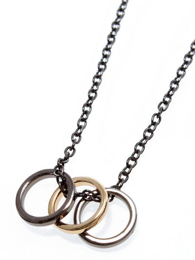 Triplet Ring Necklace-Ametsuchi